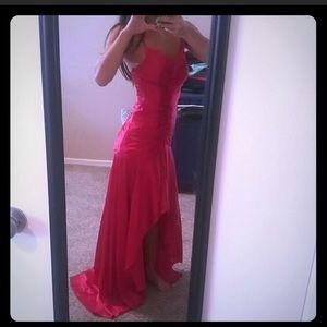 Jessica McClintock Dresses - Red Prom Dress